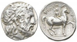 Kings of Macedon. Pella. Philip II. 359-336 BC. Tetradrachm AR