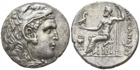 "Kings of Macedon. Pella. Alexander III ""the Great"" 336-323 BC. Tetradrachm AR"