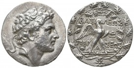 Kings of Macedon. Pella or Amphipolis mint. Perseus 179-168 BC. Tetradrachm AR