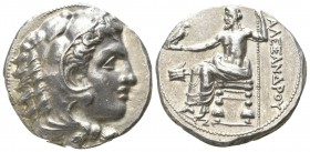 "Kings of Macedon. Soli. Alexander III ""the Great"" 336-323 BC. Tetradrachm AR"