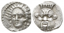 Cilicia. Uncertain mint circa 400 BC. Obol AR