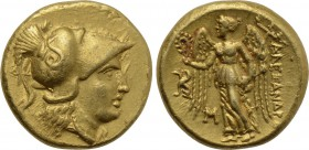 KINGS OF MACEDON. Alexander III 'the Great' (336-323 BC). GOLD Stater. 'Teos'.