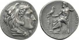 KINGS OF MACEDON. Alexander III 'the Great' (336-323 BC). Drachm. Abydos? Lifetime issue.
