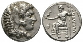 Cyprus, Soloi, Pasikrates (Stasikrates, c. 330s-310s BC), Tetradrachm, in the name and types of Alexander III of Macedon, c. 325/3-319/8 BC, 17.31g, 2...