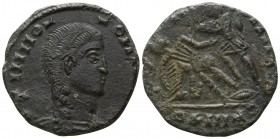 Imitation of Constantine AD 318. Imitating Siscia. Follis Æ