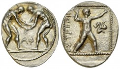 Aspendos AR Stater, c. 380-325 BC 