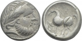 "EASTERN EUROPE. Imitations of Philip II of Macedon. Tetradrachm. ""Kugelwange"" type."