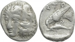 MOESIA. Istros. Drachm (Late 5th-4th centuries BC).