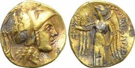 KINGS OF MACEDON. Alexander III 'the Great' (336-323 BC). Fourrée Stater. Imitating Amphipolis.