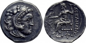 KINGS OF MACEDON. Alexander III 'the Great' (336-323 BC). Hemidrachm. Kolophon.