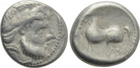 "EASTERN EUROPE. Imitations of Philip II of Macedon (2nd-1st centuries BC). Tetradrachm. ""Kugelwange"" type."