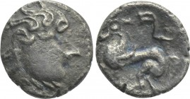 "EASTERN EUROPE. Imitations of Philip II of Macedon (2nd-1st centuries BC). Obol. ""Kapostaler Kleingeld"" type."