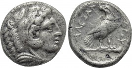 KINGS OF MACEDON. Alexander III 'the Great' (336-323 BC). Drachm. Amphipolis.