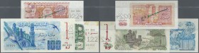 Algeria: set of 3 SPECIMEN notes containing 20 Dinars 1983 Specimen, 50 Dinars 1977 Specimen and 100 Dinars 1981 Specimen P. 130s, 131s, 133s, the 20 ...