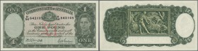 Australia: 1 Pound ND(1942) P. 26b in condition aUNC+.