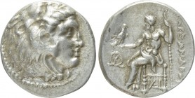 EASTERN EUROPE. Imitation of Alexander III 'the Great' of Macedon (3rd-2nd centuries BC). Drachm.
