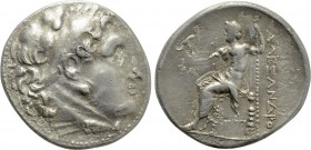 KINGS OF MACEDON. Alexander III 'the Great' (336-323 BC). Tetradrachm. Uncertain mint in Asia Minor.