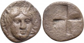ASIA MINOR. Uncertain (Idyma?). Hemiobol (5th century BC).