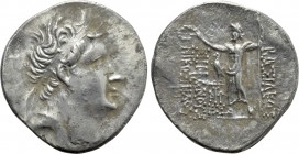 KINGS OF BITHYNIA. Nikomedes IV Philopator (94-74 BC). Tetradrachm. Dated BE 208 (90/89 BC).