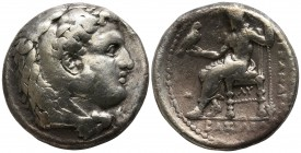 Kings of Macedon. Babylon. Philip III Arrhidaeus 323-317 BC. Tetradrachm AR