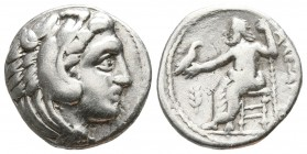 Kings of Macedon. Miletos. Philip III Arrhidaeus 323-317 BC. Drachm AR