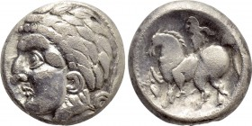 "EASTERN EUROPE. West Slovakia (3rd-2nd centuries BC). Tetradrachm. ""Kroisbacher"" type."