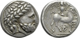 "EASTERN EUROPE. Imitations of Philip II of Macedon (2nd-1st centuries BC). Tetradrachm. ""Puppenreiter"" type."