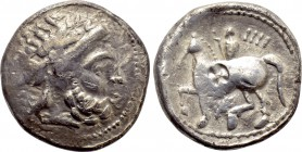 EASTERN EUROPE. Imitations of Philip II of Macedon (2nd-1st centuries BC). Tetradrachm.