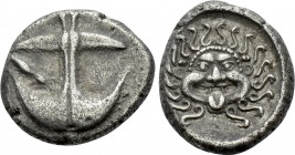 THRACE. Apollonia Pontika. Drachm (Late 5th-4th centuries BC).
