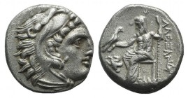 Kings of Macedon, Antigonos I Monophthalmos (Strategos of Asia, 320-306/5 BC, or king, 306/5-301 BC). AR Drachm (17mm, 4.06g, 9h). In the name and typ...