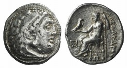 Kings of Macedon, Antigonos I Monophthalmos (Strategos of Asia, 320-306/5 BC, or king, 306/5-301 BC). AR Drachm (17mm, 4.00g, 12h). In the name and ty...