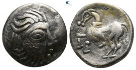 "Eastern Europe. Mint in the region of Velem, Hungary. Imitations of Philip II of Macedon circa 200-0 BC. Drachm AR. ""Kapostaler Kleingeld"" type."