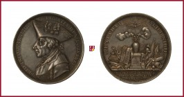 Germany, Prussia, Friedrich II. der Grosse (Frederic II The Great) (1740-1786), silver medal, 1786, 25,87 g Ag, 45 mm, opus: J.G. Hotzhey, Commemorati...