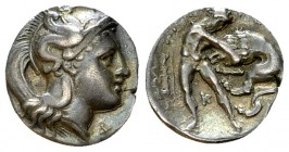 Tarentum AR Diobol, c. 380-325 BC 