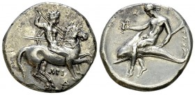 Tarentum AR Nomos, c. 315-302 BC 