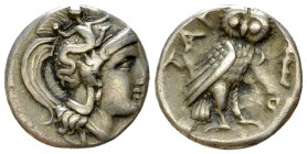 Tarentum AR Drachm, c. 302-280 BC 