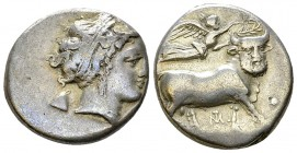 Neapolis AR Nomos, c. 320-300 BC 