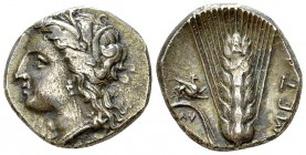 Metapontum AR Nomos, c. 330-290 BC 