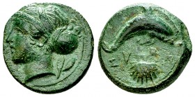 Syracuse AE Hemilitron, c. 400 BC 