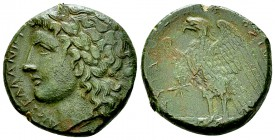Hiketas II AE21, c. 283-279 BC 