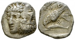 Istros AR Drachm, late 5th century BC 