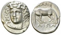 Larissa AR Drachm, c. 356-342 BC 