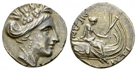 Histiaia AR Tetrobol, 3rd-2nd centuries BC 