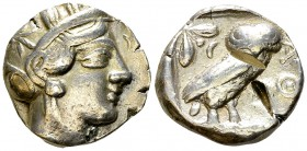 Athens AR Tetradrachm, c. 454-404 BC 