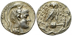 Athens AR New Style Tetradrachm, 144/143 BC 