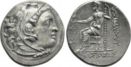 KINGS OF THRACE (Macedonian). Lysimachos (305-281 BC). Drachm. 'Teos'.