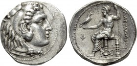 KINGS OF MACEDON. Alexander III 'the Great' (336-323 BC). Tetradrachm. Sidon. Dated CY 21 (313/2 BC).
