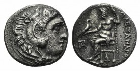 Kings of Macedon, Antigonos I Monophthalmos (Strategos of Asia, 320-306/5 BC, or king, 306/5-301 BC). AR Drachm (16mm, 4.10g, 12h). In the name and ty...