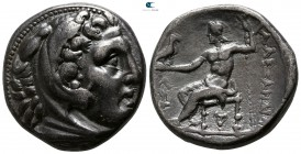 Kings of Macedon. Amphipolis. Kassander . As regent, 317-305 BC, or king, 305-298 BC. In the name and types of Alexander III. Struck circa 307-297 BC....
