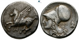 Akarnania. Anaktorion 345-300 BC. Stater AR